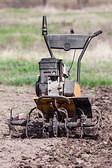 культиватор+лопата+обработка почвы