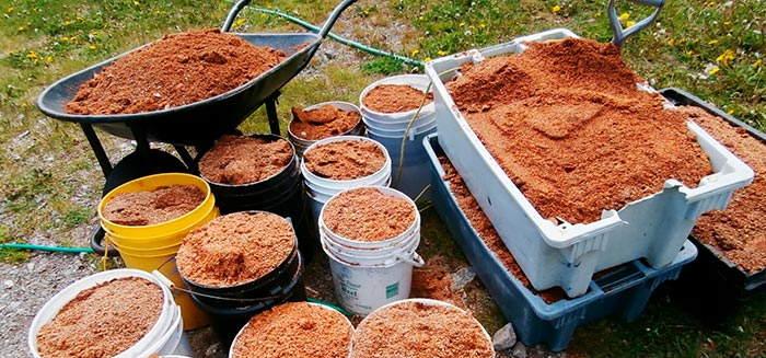 способы внесения органических удобрений