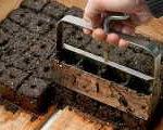 кубики +для выращивания рассады